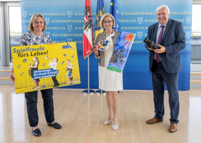 Aktionstage in den Schulen Niederösterreichs vermitteln Freude an Musik und Kunst