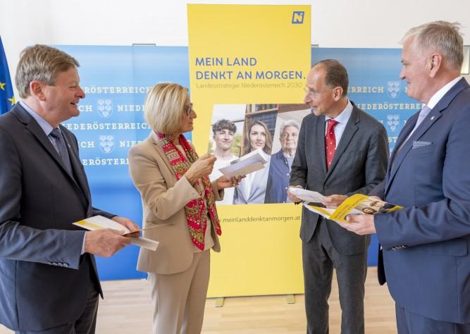 Landesstrategie Niederösterreich 2030: Start zur großen Haushaltsbefragung