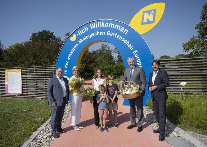 Eine europäische Erfolgsgeschichte: 3 Millionen Besucherinnen und Besucher auf der GARTEN TULLN